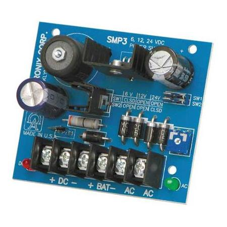 24 Volt Dc Power Supply With Battery Back Up Ssi